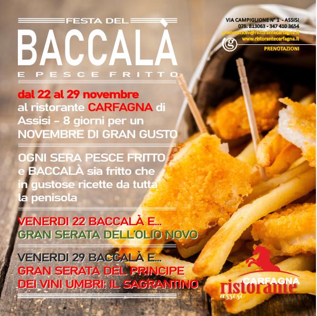 Festa del Baccalà e Pesce fritto